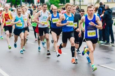 sport - bieg w maratonie