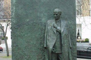 Pomnik Raoula Wallenberga w Londynie