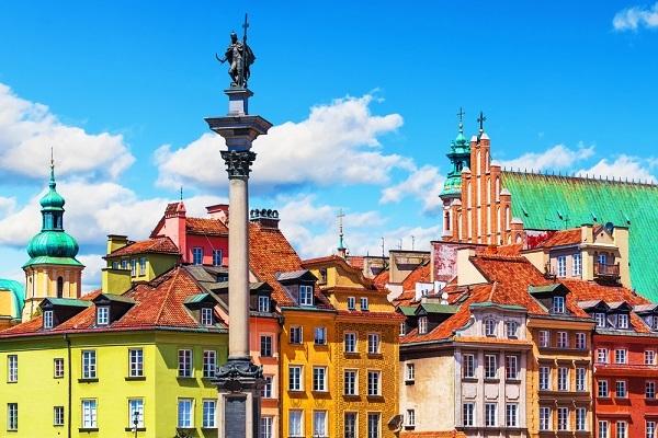 Warszawa stare miasto - starówka w Warszawie