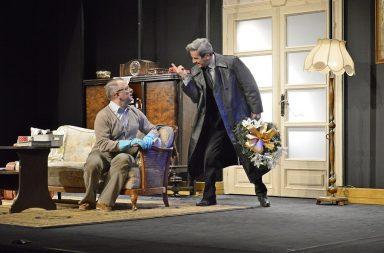 """Spektakl """"Pół na Pół"""" w Teatrze Polonia – warszawska premiera 17,18,19 marca 2017 – występują Piotr Polk i Piotr Szwedes"""