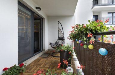 Dekoracje na balkon lub taras