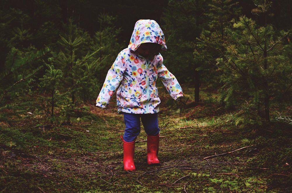 Wiosenna kurtka dla dziewczynki