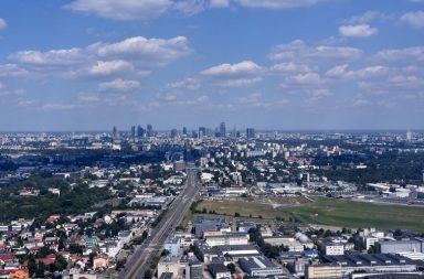 Lot widokowy nad stolicą - niecodzienny pomysł na spędzenie czasu